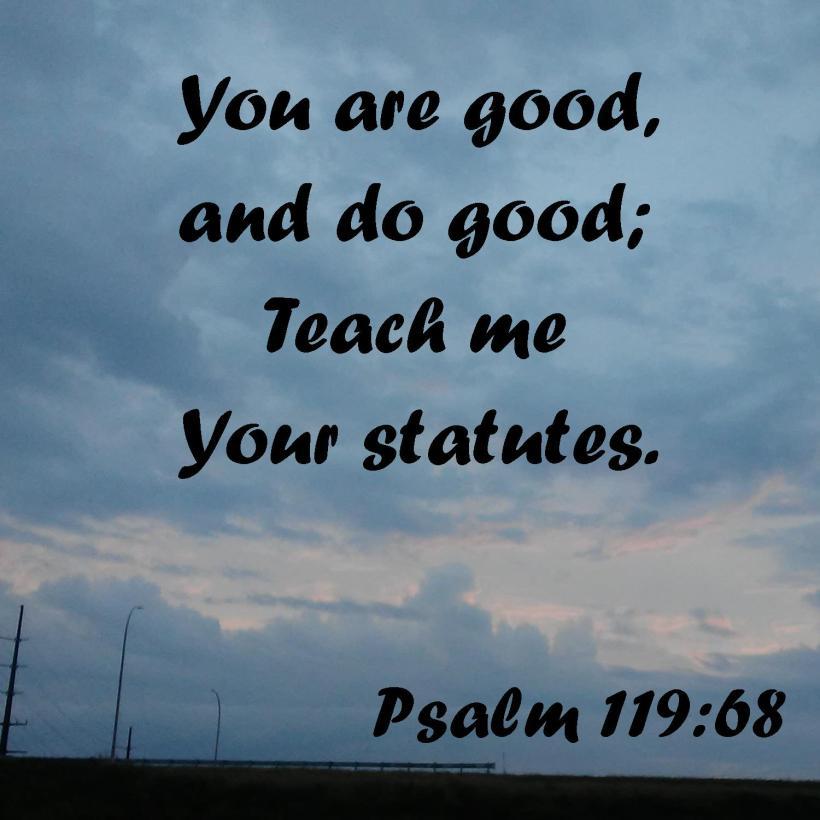 Psalm 119 68