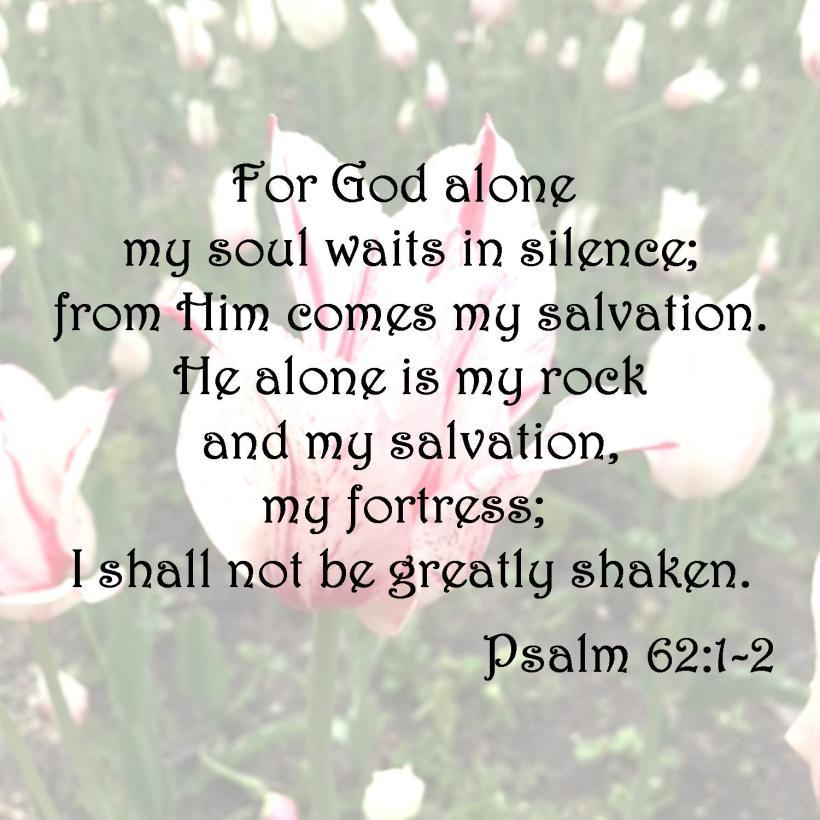 Psalm 62 1-2
