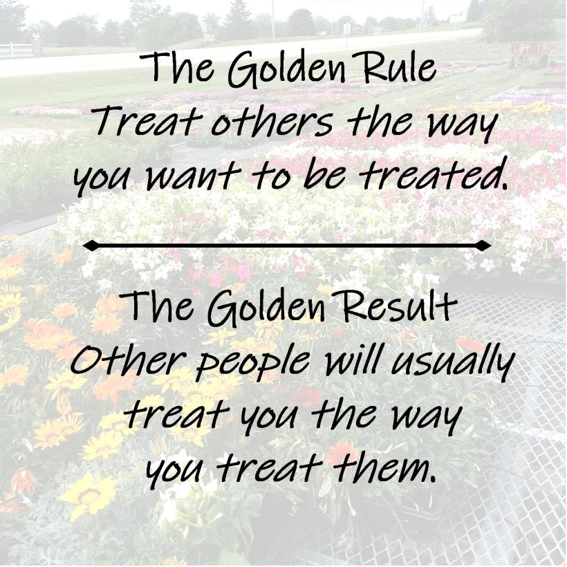 Golden Rule Result 3