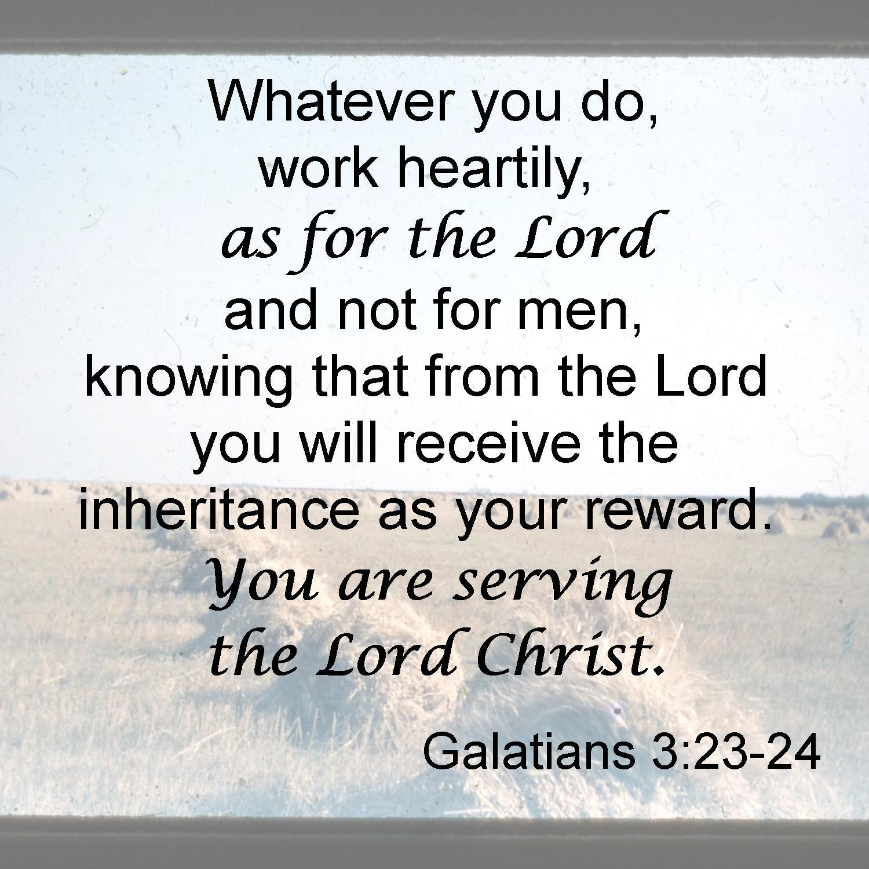 Galatians 3 23 24
