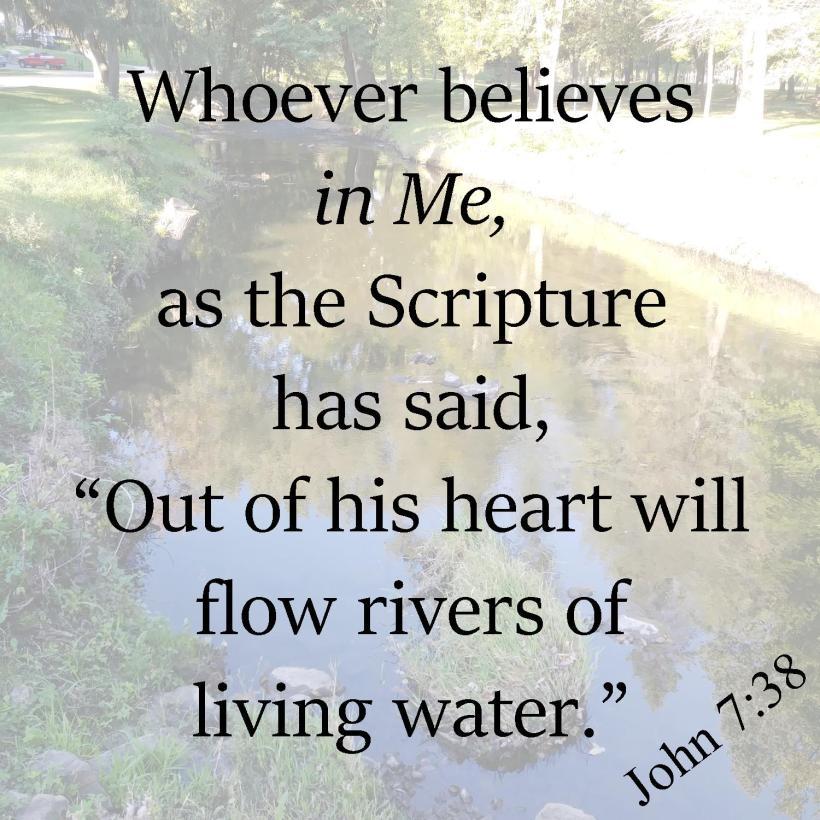 John 7 38