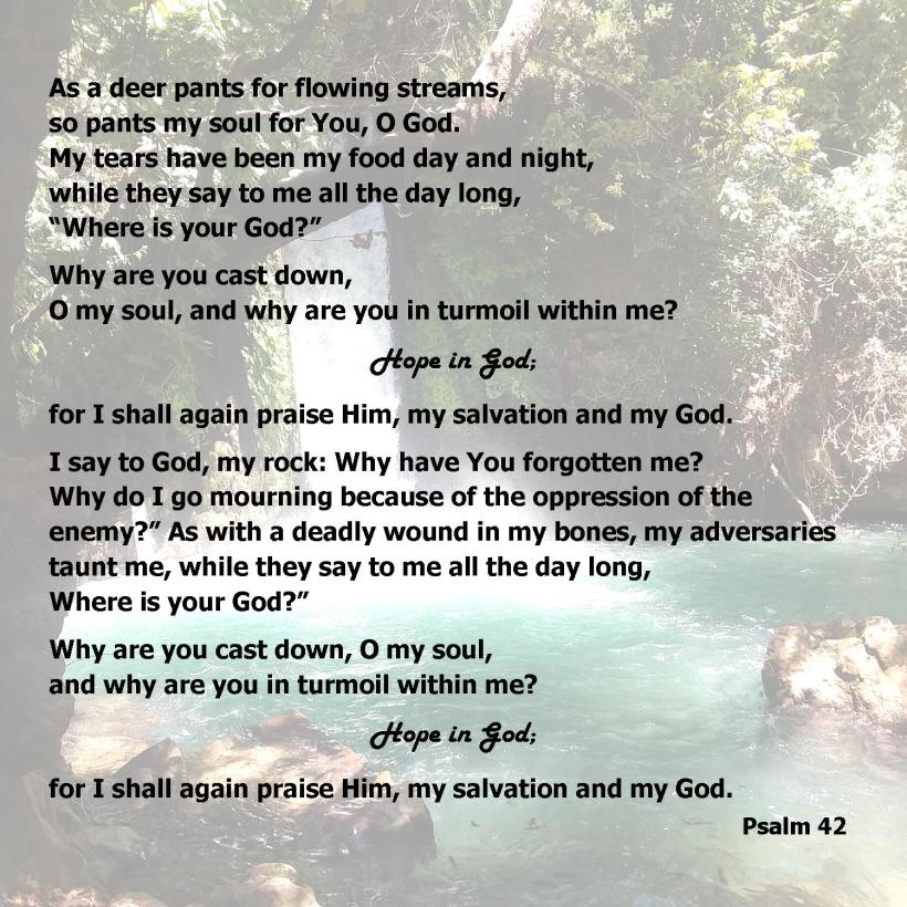 Psalm 42 partial